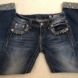 Miss Me Skinny Crop Jeans